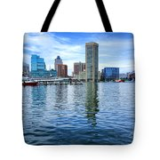 Baltimore On The Water Tote Bag