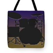 Baltimore Ravens Drum Set Tote Bag
