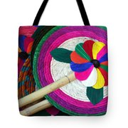 Bamboo And Palm Fan Tote Bag