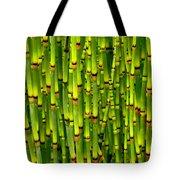 Bamboo Curtain Tote Bag