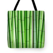 Bamboo Forest Background 2 Tote Bag