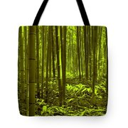 Bamboo Forest Twilight  Tote Bag
