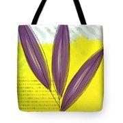 Bamboo Tote Bag by Linda Woods