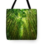 Bamboo Sky - The Magical And Mysterious Bamboo Forest Of Maui. Tote Bag