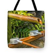Bamboo Spout Tote Bag