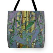 Bamboo Study 9 Tote Bag by Tim Allen