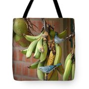 Banana Birds Tote Bag