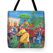 Banana Delivery In Cameroon 01 Tote Bag