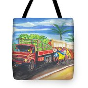 Banana Delivery In Cameroon 02 Tote Bag