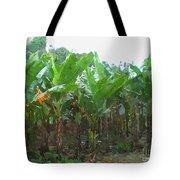 Banana Field Tote Bag