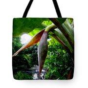 Banana Flower Tote Bag
