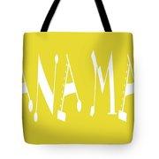 Banana Manna - Yellow - Color - Letter Art Tote Bag