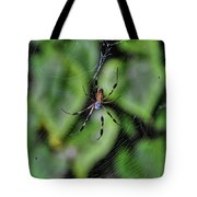 Banana Spider Tote Bag