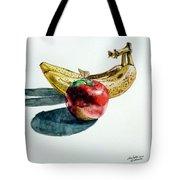 Bananas And An Apple Tote Bag