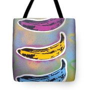 Bananas Go Pop Tote Bag