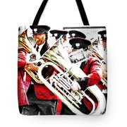 Band On The Run Tote Bag