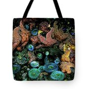 Bandon Beach Oregon Pacific Tidal Pool Tote Bag