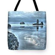 Bandon Beach Scatter Tote Bag