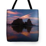 Bandon Beach Skies Tote Bag