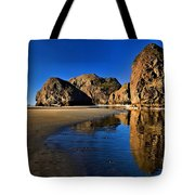 Bandon Low Tide Reflections Tote Bag