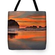 Bandon Orange Pastels Tote Bag