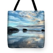 Bandon Rock Garden Tote Bag