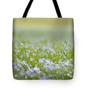Bands Of Blue Tote Bag