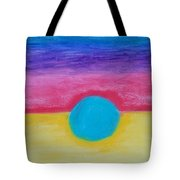 Bands Of Color Tote Bag
