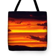 Bands Of Gold Tote Bag