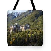 Banff Fairmont Springs Hotel Tote Bag