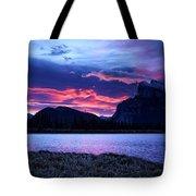 Banff Sunrise  Tote Bag