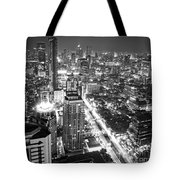 Bangkok Skyline 1 - Thailand Tote Bag