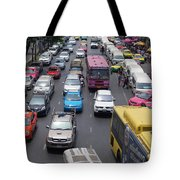 Bangkok Street View  Tote Bag