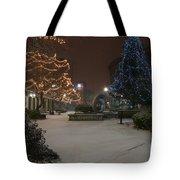 Bangor Maine Christmas Tote Bag