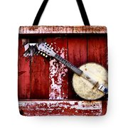 Banjo Mandolin - American Music Tote Bag