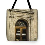 Bank Door Tote Bag