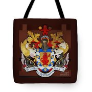 Bank Of Bermuda Coat Of Arms Tote Bag