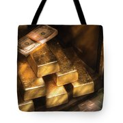 Banker - My Precious  Tote Bag by Mike Savad