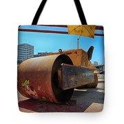 Banksys Steam Rollered Yogi Tote Bag