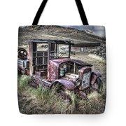 Bannack Ghost Town Truck - Montana Tote Bag