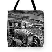 Bannack International Black And White Tote Bag