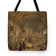 Banquet In The Baronial Hall, Penshurst Tote Bag