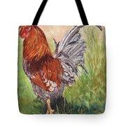 Bantam Cockerel Tote Bag