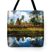 Banteay Srei - Angkor Wat - Cambodia Tote Bag