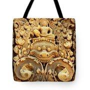 Banteay Srei Carving 01 Tote Bag