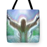 Baptism Of Yshuah Tote Bag