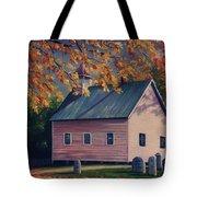 Baptist Church  Cades Cove Tote Bag