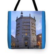 Baptistery Of Parma Tote Bag