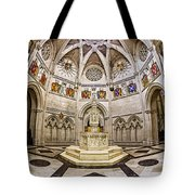 Baptistry At Saint John The Divine Cathedral Tote Bag