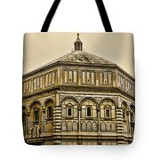 Baptistry - Florence Italy Tote Bag